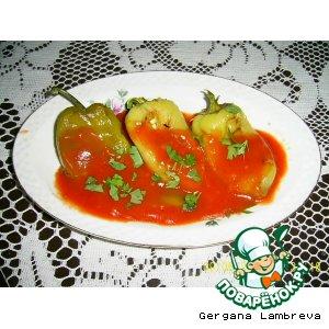 Рецепт Перец печеный в томатном соусе