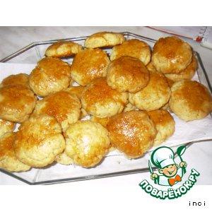 Рецепт Ароматное кокосовое печенье