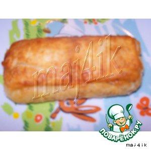 Рецепт Жареные слоeные пирожки с необычной начинкой