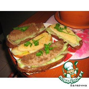 Рецепт Бутерброды от Мони