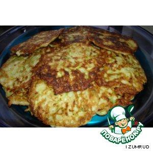 Рецепт Картофельно-кабачковые оладушки