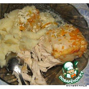 Рецепт Куриное филе в сметане