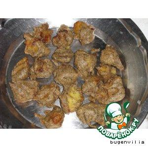 Рецепт Картофельные пакори из гречневой муки