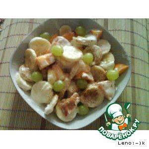 Рецепт Мой фруктовый салатик