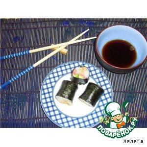 Суши с красной рыбой и авокадо вкусный пошаговый рецепт приготовления с фото