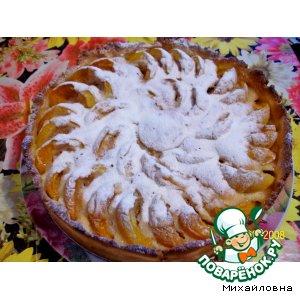 Рецепт: Пирог с абрикосами
