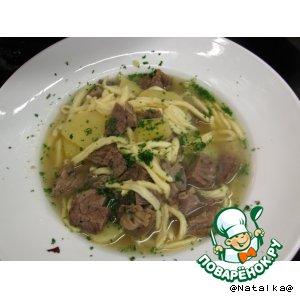 "Рецепт ""Гайсбургер марш"" суп"