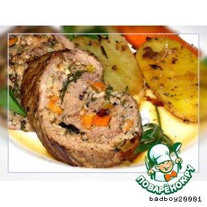 Рецепт Завыванец - мясной рулет