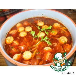 фото рецепт солянки супа