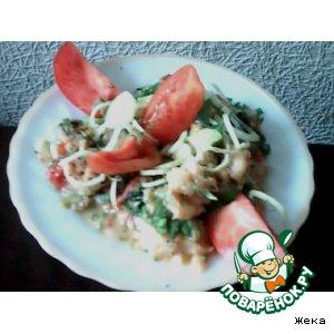 Рецепт Рыба тушеная с овощами