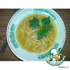 Суп-лапша с креветками простой рецепт приготовления с фотографиями