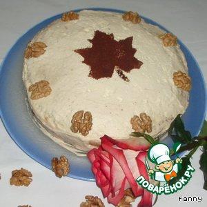 Рецепт Итальянский ореховый торт