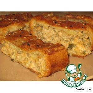 Рецепт Пирог с баклажанами и сыром