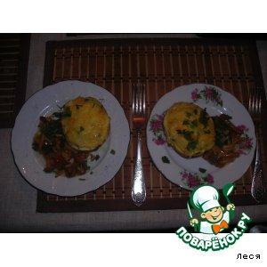 Рецепт Картофельные лодочки