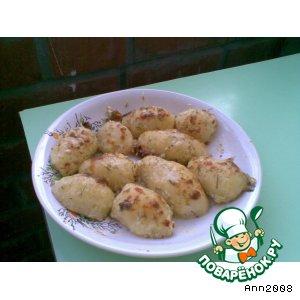 Рецепт Картошечка в чесночном соусе