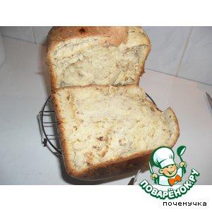 Рецепт Сладкий сдобный хлеб с изюмом
