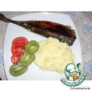 Рецепт Скумбрия, запеченная в фольге