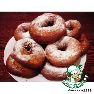 Рецепт Картофельные пончики