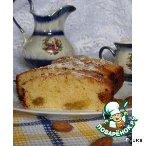 Рецепт Лимонный кекс на рисовой муке