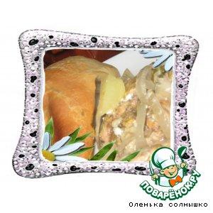 Рецепт Ароматная курочка в сливочном соусе