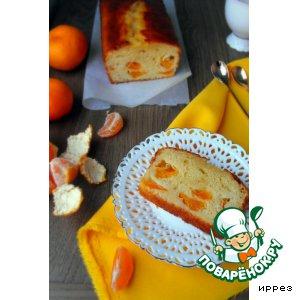 """Рецепт Кекс """"Подгулявший мандарин"""""""