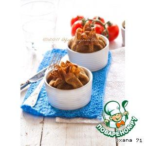 Рецепт Гречневые блинчики с брокколи, помидорами и сыром