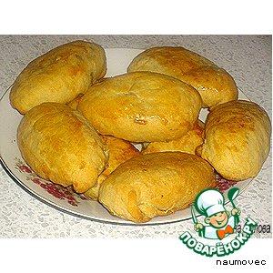 Рецепт Яблочные пирожки с мясом