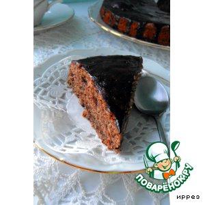 Рецепт Тройной шоколадный торт