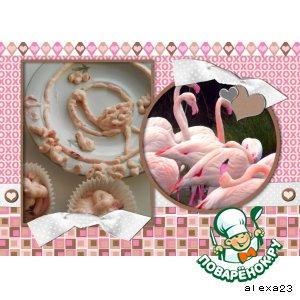 Рецепт Der rosa Flamingo (Розовый фламинго)