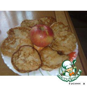 Рецепт Оладушки с яблоком