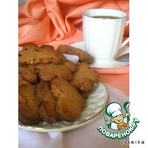Рецепт Гречневое печенье с шоколадом