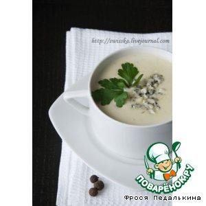 Рецепт Картофельный крем-суп с голубым сыром