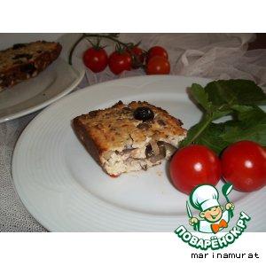 Рецепт Запеканка из баклажанов и творога