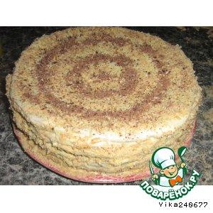 Рецепт Медовый тортик