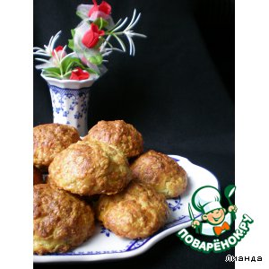 Рецепт Лепешки с сыром и овсяными хлопьями