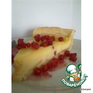 Рецепт Пирог с яблоками, клубникой и смородиной