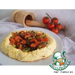 Рецепт Картофельно-творожная запеканка с начинкой