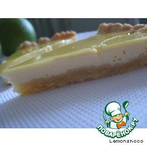 Рецепт Лимонно-мятный пирог
