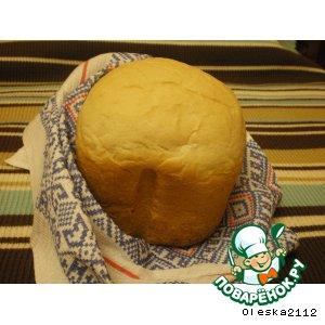 Рецепт Хлеб пшеничный на минеральной воде