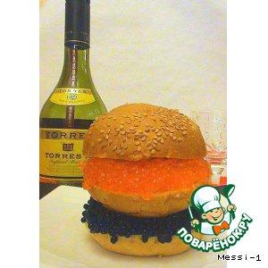 Рецепт Гамбургер для настоящих мужиков