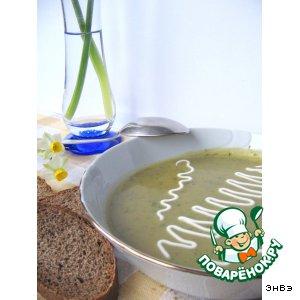 Рецепт Картофельный суп-пюре на грибном бульоне