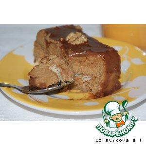 Манный десерт  'Шатенка'