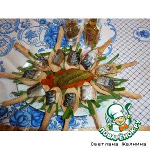 Рецепт Рыбные  консервы домашние в оригинальной подаче