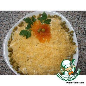 Рецепт Салат с курицей и курагой