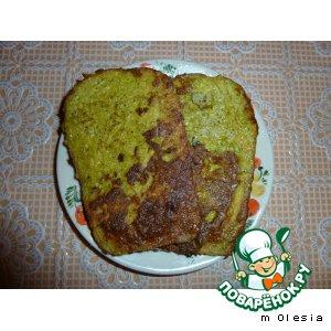 Рецепт Гренки с брокколи