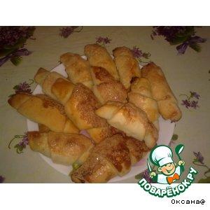 Рецепт Рогалики с вишней