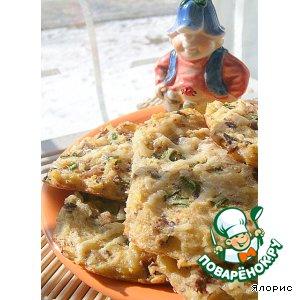 Готовим рецепт приготовления с фотографиями Фасолевые лепешки с сыром