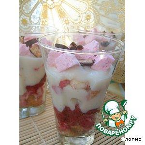 Рецепт Десерт по мотивам трайфла
