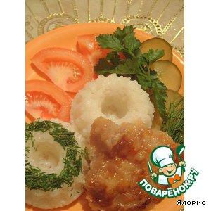 Рецепт Свиные медальоны с рисом