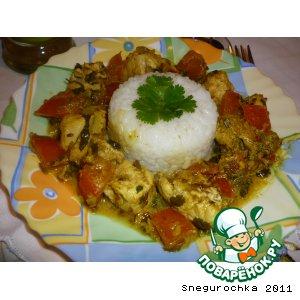 Рецепт Индийская курица